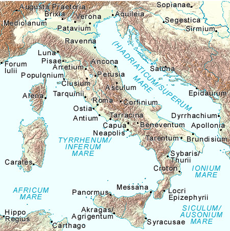 Topographic Map Of Rome.Lisa S Lecture Rome And Late Antiquity