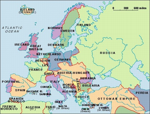 1914 map of europe. map of europe 1914 alliances.