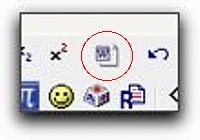 word cleanup button